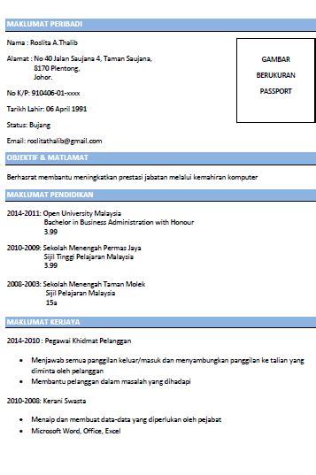 contoh resume lengkap dan terbaik tips dan
