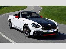Review the Abarth 124 Spider Top Gear