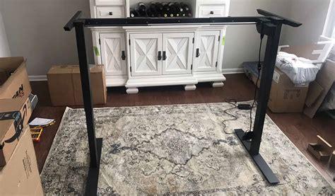 build  diy adjustable standing desk step  step