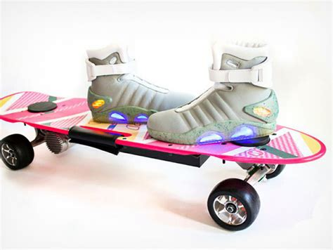 Back To The Future Hoverboard Skate Deck by Hoverboard Skateboard Electric Images