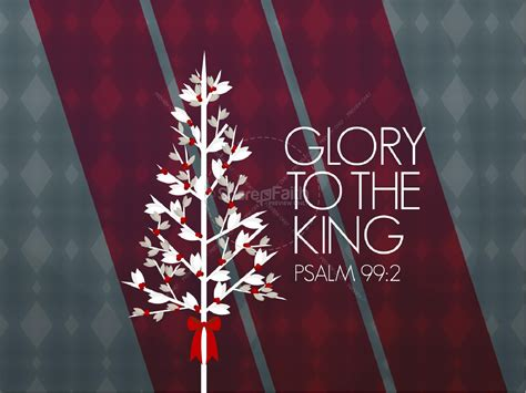 glory   king christmas powerpoint christmas powerpoints