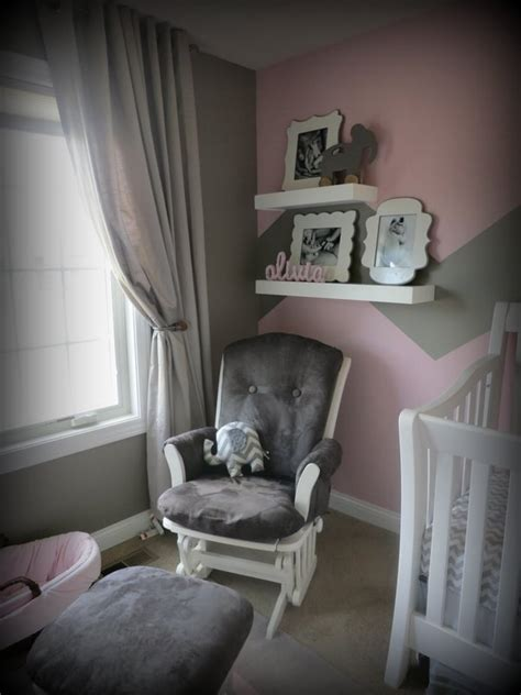 Giant Camp Chair by Pink And Grey Girls Nursery Design Dazzle