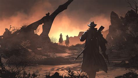 red dead redemption  fan art  hd games  wallpapers images backgrounds   pictures