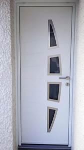 Porte D Entrée Blanche : solabaie rochefort pose d 39 une porte d 39 entr e blanche en ~ Melissatoandfro.com Idées de Décoration