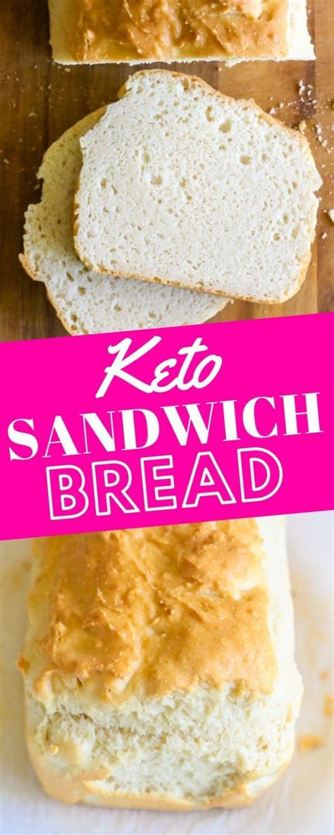 I found that a 4×4 microwave safe container made the perfect size piece of low carb bread that could be cut in half and stuffed with sandwich things. Easy Keto Sandwich Bread Recipe - Sweet Cs Designs | Easy ...