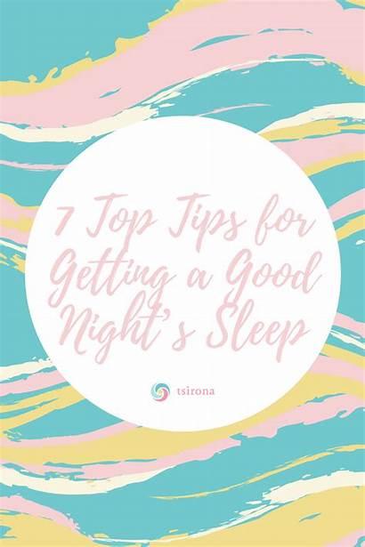 Tsirona Sleep Health Goals Low Composition Metabolism