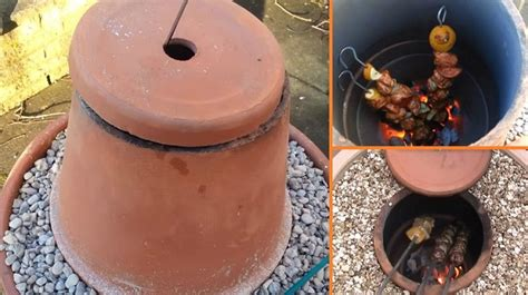 how to make a diy tandoor oven with flower pots home design garden architecture magazine