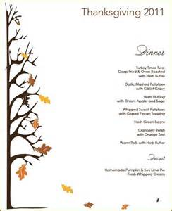 thanksgiving menu giveaway centsational