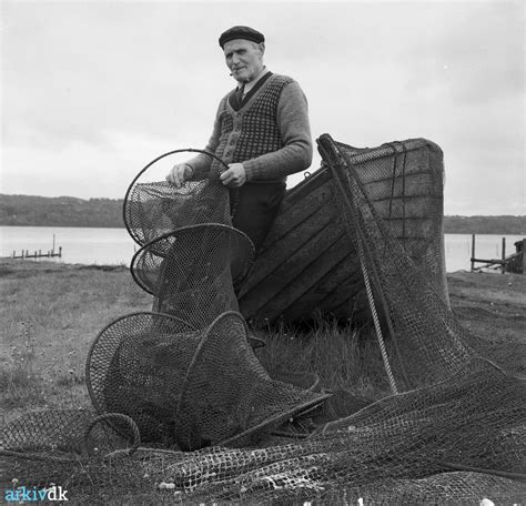 arkiv.dk   Fisker Henrik Pedersen, Brønsodde, 20. oktober 1954