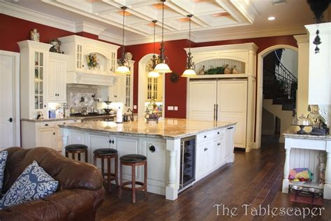 photo  large country kitchens ideas home plans blueprints