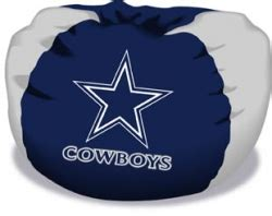 Large Nfl Bean Bag Chairs by Dallas Cowboys Bean Bag Chair By Northwest