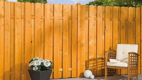 Garten Sichtschutz Jumbo by Sichtschutz Zaun Jumbo Kiefer Fichte Farbig Lasiert