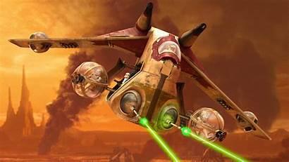 Gunship Starwars Clone Wars Republic Transport Attack