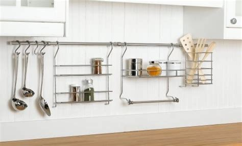 kitchen wall storage systems closetmaid 3059 kitchen organizer rail system eclectic 6440