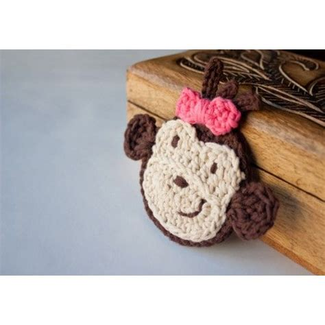 Monkey Applique by Monkey Applique Crochet Crochet Monkey