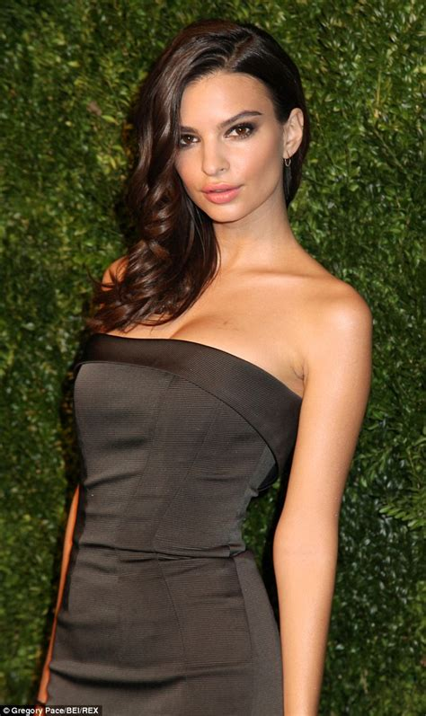 Emily Ratajkowski in strapless gown at the CFDA Vogue ...