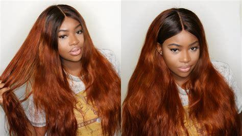 Fire Cinnamon Hair Color Tutorial