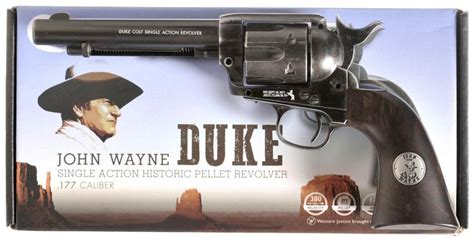 colt wayne quot duke quot commemorative single revolver