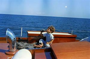 ST C283 3 63 Timothy Shriver On Yacht QuotHoney Fitzquot In