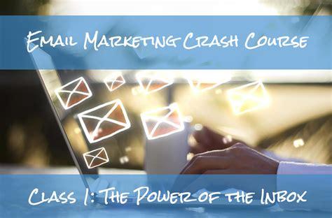 email marketing course email marketing crash course socialpunchmarketing