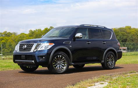 Armada Car 2018 Nissan Armada Features Review The Car Connection