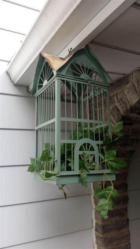 tin hanging bird cage home decor secondhand pursuit
