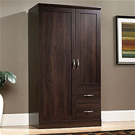 Big Armoire Wardrobe by View Sauder 174 Storage Armoire Deals At Big Lots