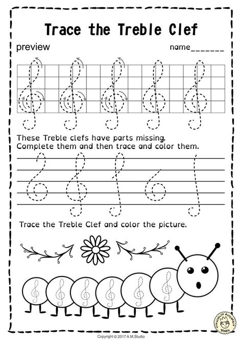133 best tracing music notes worksheets images pinterest