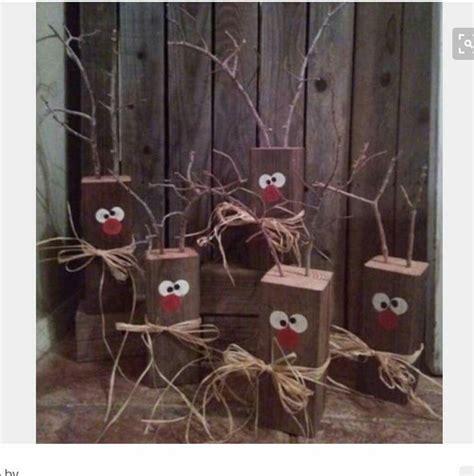 reindeer craft to sell reindeer blocks wooden crafts crafts to make