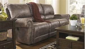 rustic reclining sofa bradley s furniture etc With rustic sectional sofas with recliners