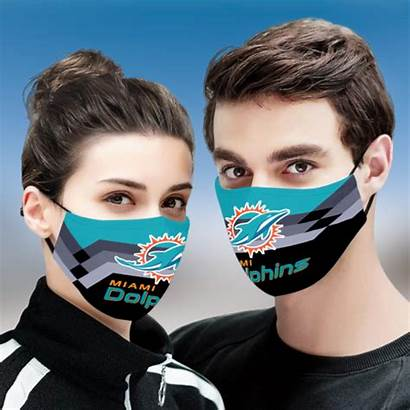 Miami Dolphins Mask Face Fabric Cloth