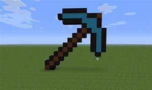 Diamond Pickaxe Minecraft Project