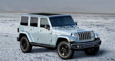 Jeep Wrangler Redesign 2018 by 2018 Jeep Wrangler Auto Car Update