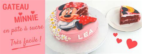 gateau minnie pate a sucre gateau anniversaire enfant univers cake