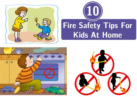 top  home fire safety tips  kids