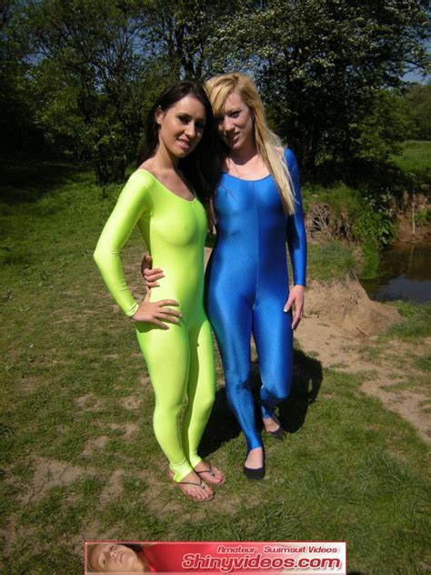 Shinyvideos New Spandex Video Catsuit And Zentai Special