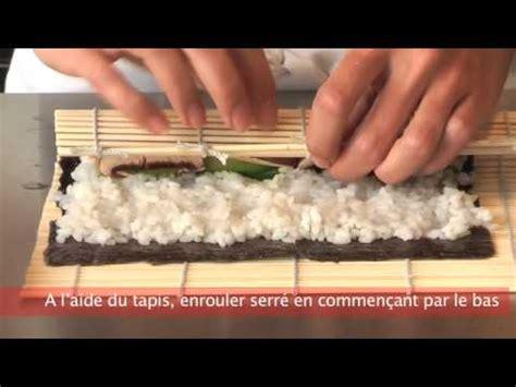 cuisiner des sushis cuisiner futé rouler des sushis