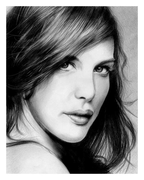30 Amazing Celebrity & Models Pencil Sketches