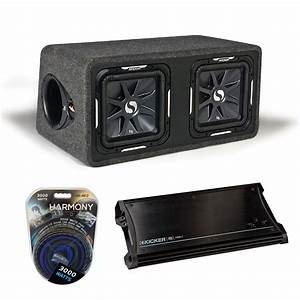 Kicker Car Speakers : kicker car audio loaded dual 12 ds12 solobaric l7 sub ~ Jslefanu.com Haus und Dekorationen