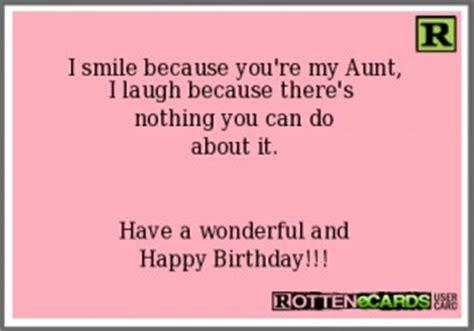 humorous happy birthday aunt quotes quotesgram