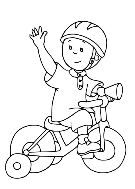 Coloring For Toddlers by Bicycle Coloring Page Coloring Home