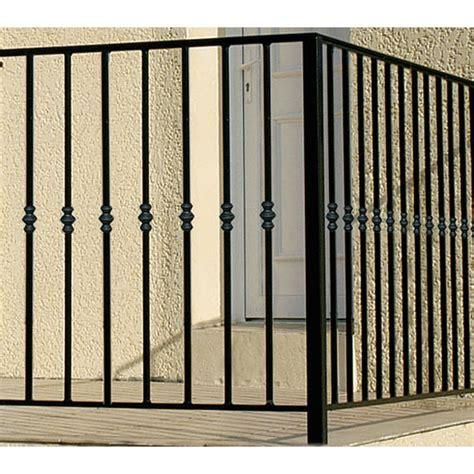 garde corps pour balcon en fer pr 233 peint nordet haut 97cm x larg 146cm leroy merlin