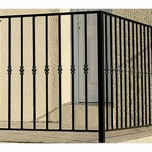 Garde Corps Exterieur Leroy Merlin : garde corps pour balcon en fer pr peint nordet haut 97cm ~ Dailycaller-alerts.com Idées de Décoration