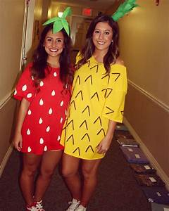 Ananas Kostüm Selber Machen : strawberry and pineapple halloween costume fr hling pinte ~ Frokenaadalensverden.com Haus und Dekorationen