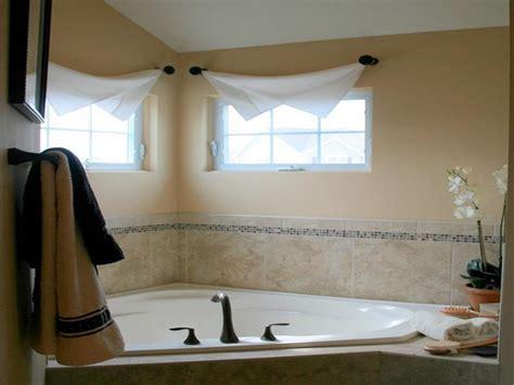 ideas for bathroom windows door windows corner window treatment ideas for
