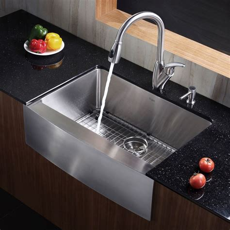 Kraus Sinks Kitchen Sink by Faucet Khf200 30 In Stainless Steel By Kraus