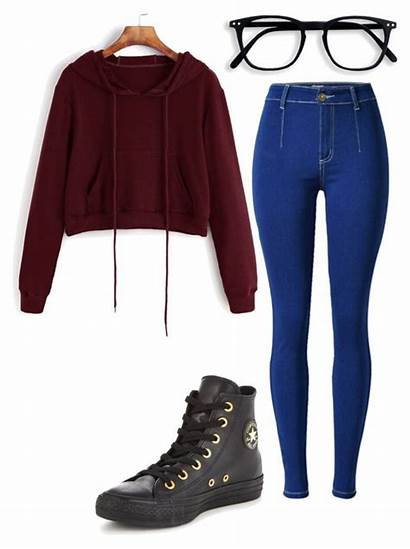 Polyvore Outfits Casual Converse Clothes Teens Pretty