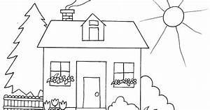 Gambar Rumah Sederhana Anak Sd Gambar Rumah Sederhana Untuk Anak Sd
