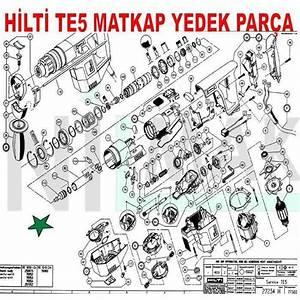 Hilti Spare Parts List Te5
