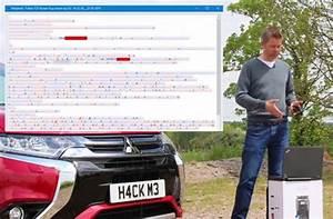 Avis Mitsubishi Outlander Phev : insolite des hackers piratent un mitsubishi outlander phev ~ Maxctalentgroup.com Avis de Voitures